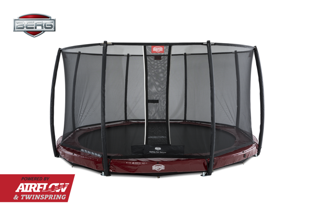 BERG InGround Elite 430 + Safety Net Deluxe