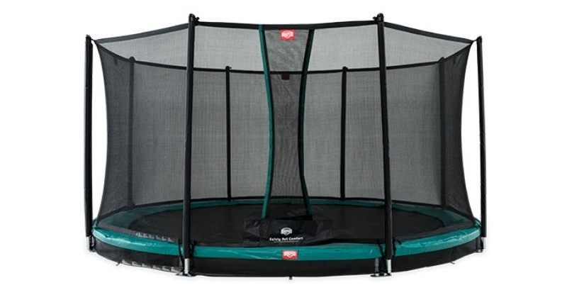 berg_favorit_inground_trampoline green
